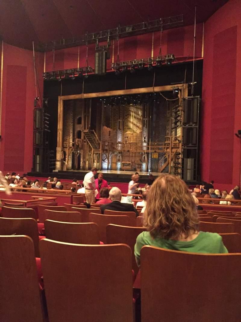 Vista sentada para The Kennedy Center Opera House Secção Orchestra Fila Z Lugar 14