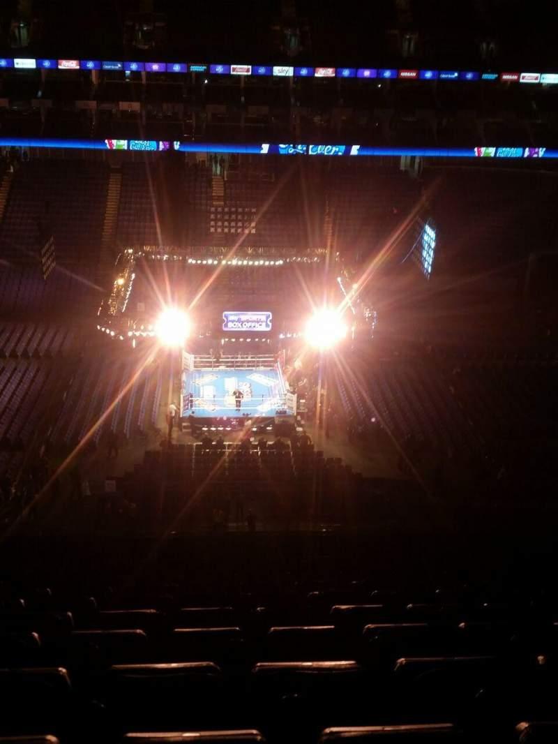 Vista sentada para The O2 Arena Secção 419 Fila S
