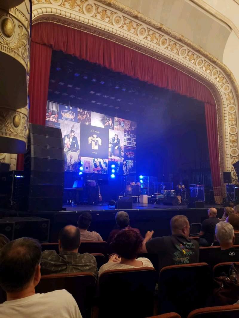 Vista sentada para Palace Theatre (Greensburg) Secção ORCH Fila F Lugar 8