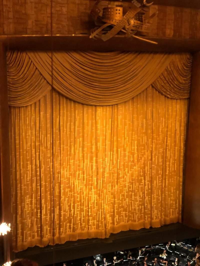 Vista sentada para Metropolitan Opera House - Lincoln Center Secção Balcony Fila D Lugar 25