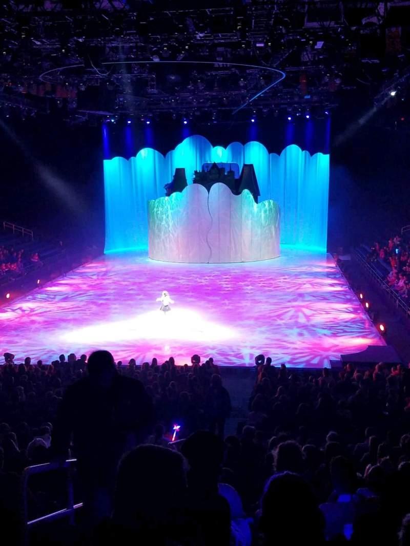 Vista sentada para Greensboro Coliseum Secção 118 Fila TT Lugar 10