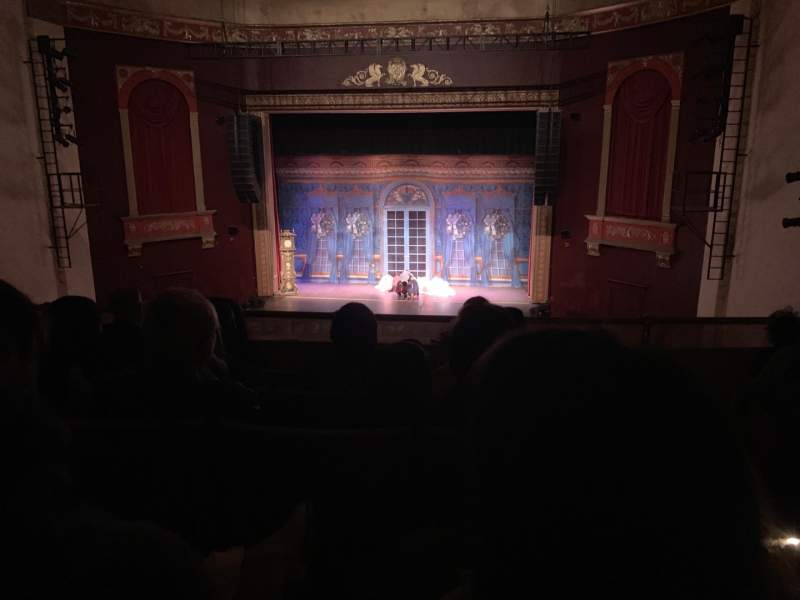 Vista sentada para Bergen Performing Arts Center Secção Mezzanine C Fila E Lugar 109