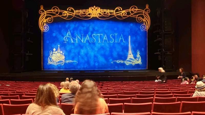 Vista sentada para San Diego Civic Theatre Secção Orchestra Fila O Lugar 6