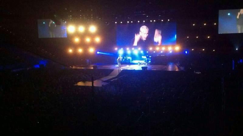 Vista sentada para Rupp Arena Secção 20 Fila J Lugar 1