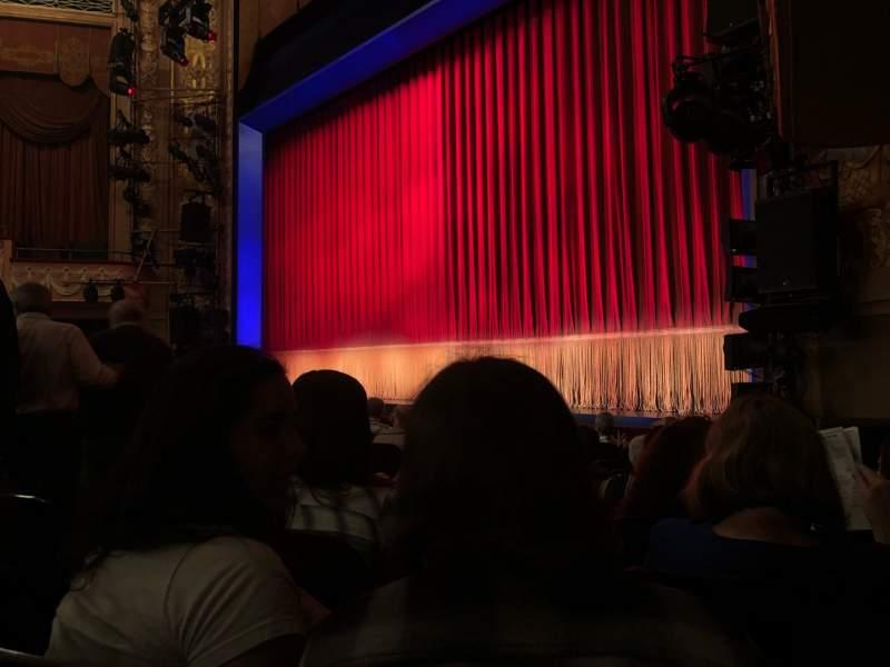 Vista sentada para Longacre Theatre Secção Orchestra R Fila J Lugar 13