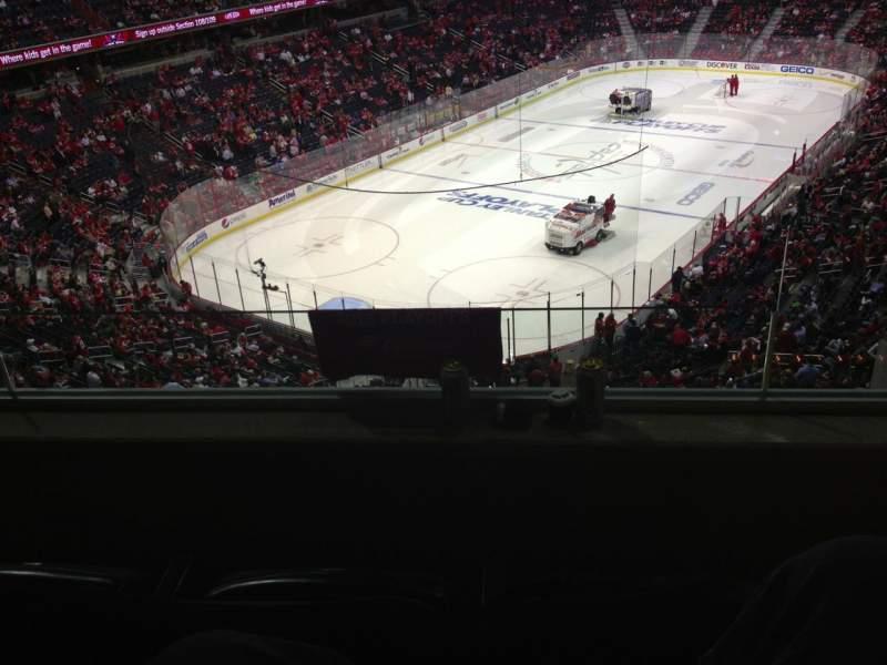 Vista sentada para Capital One Arena Secção Suite 359 Fila G/a Lugar 1