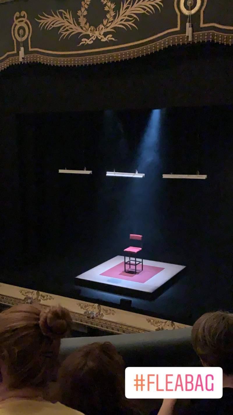 Vista sentada para Wyndham's Theatre Secção Royal Circle Fila C Lugar 3