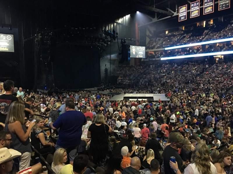 Vista sentada para VyStar Veterans Memorial Arena Secção 113 Fila M Lugar 5