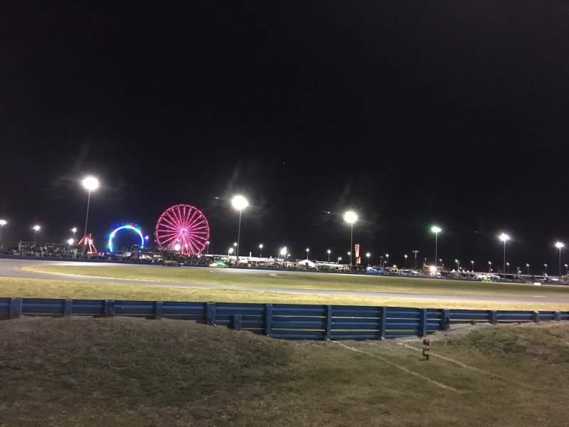 Vista sentada para Daytona International Speedway