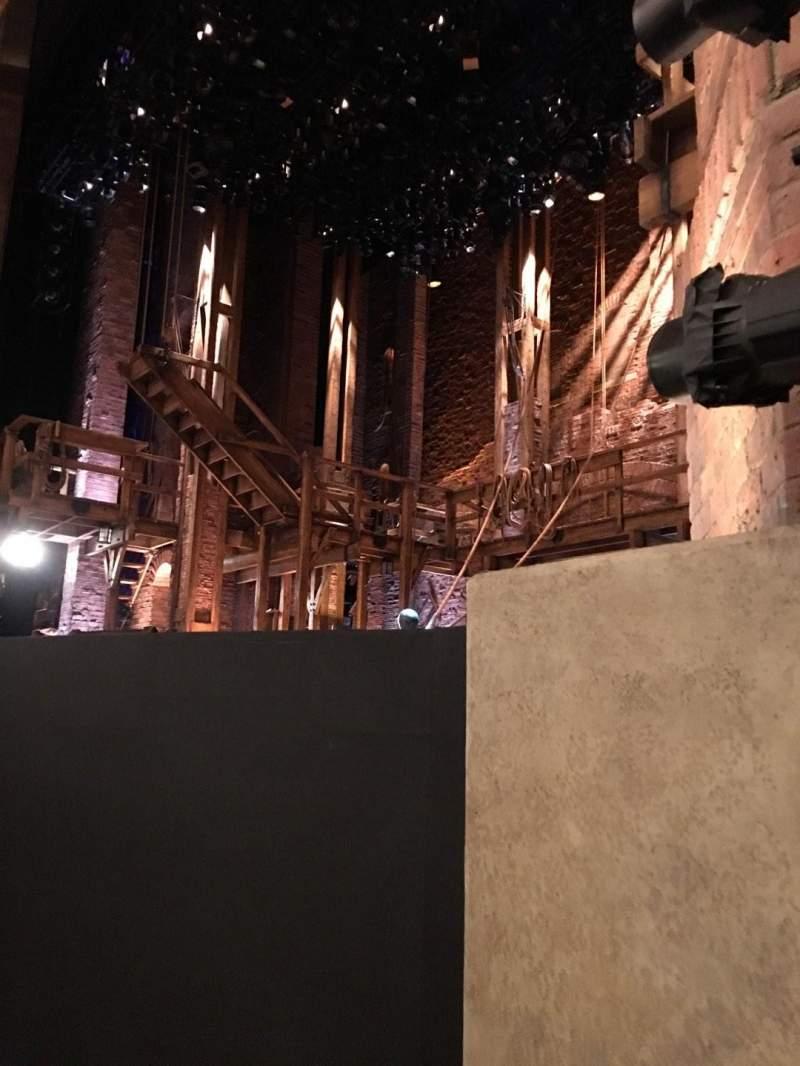 Vista sentada para CIBC Theatre Secção Orchestra R Fila C Lugar 14