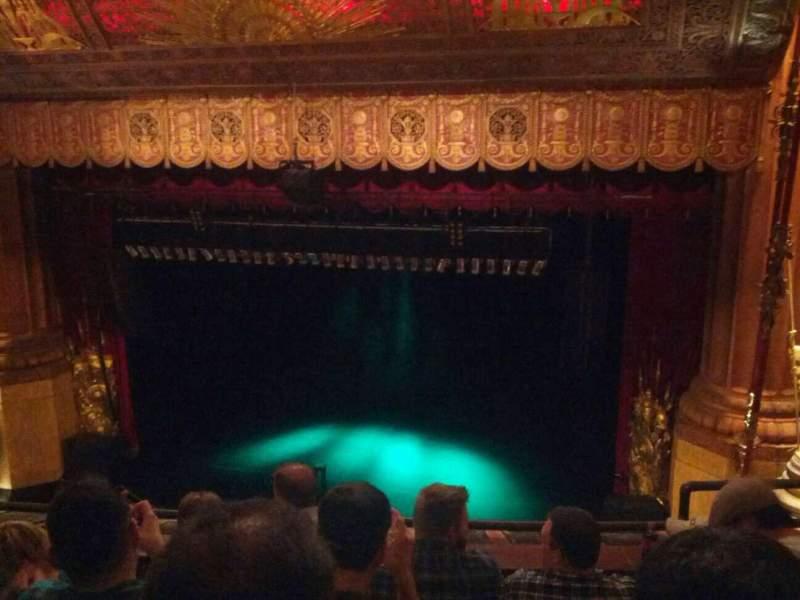 Vista sentada para Beacon Theatre Secção Lower Balcony 2 Fila D Lugar 4
