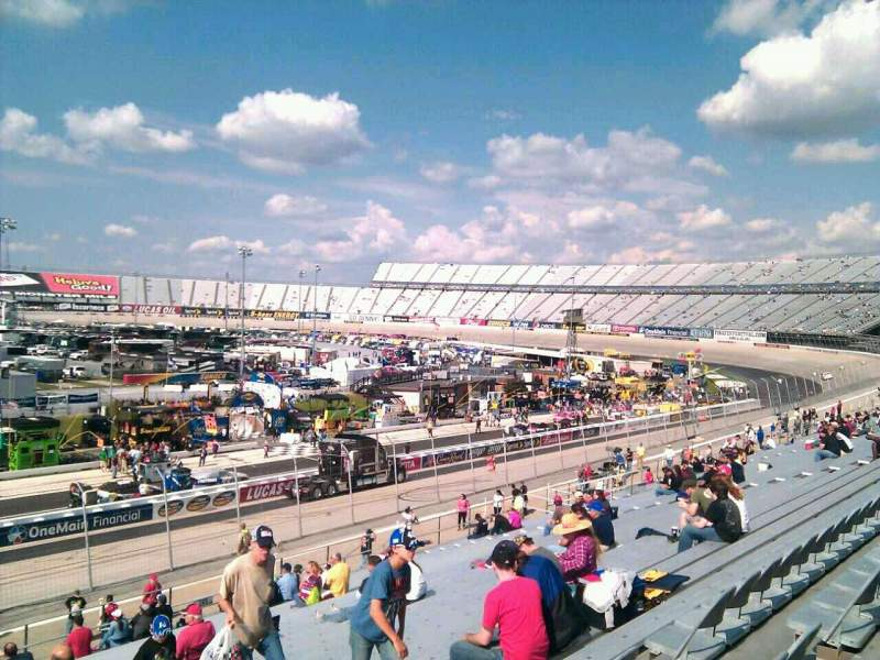 Vista sentada para Dover International Speedway Secção 250 Fila 30 Lugar 9