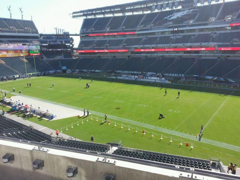 Vista sentada para Lincoln Financial Field Secção c26 Fila 3 Lugar 13
