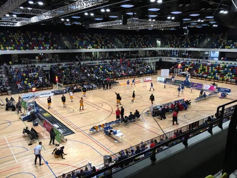 Vista sentada para Copper Box Arena Secção 205 Fila 13 Lugar 125