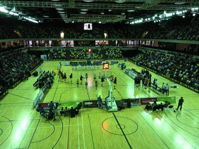 Vista sentada para Copper Box Arena Secção 208 Fila 13 Lugar 64
