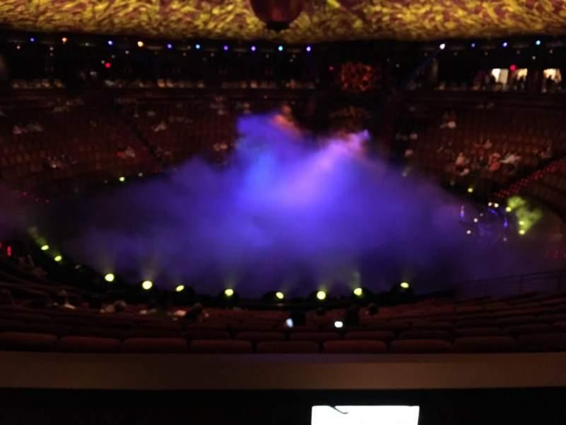 Vista sentada para Wynn Theatre Secção C Fila L Lugar 14