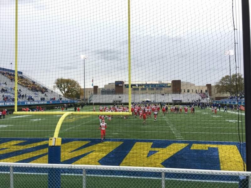 Vista sentada para Delaware Stadium Secção W Fila F Lugar 55