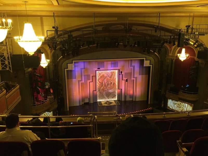 Vista sentada para Lyric Theatre Secção Balc L Fila G Lugar 1