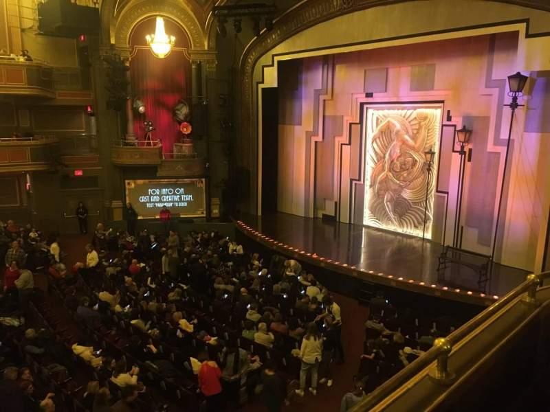 Vista sentada para Lyric Theatre Secção Dress Circle R Box C Fila 1