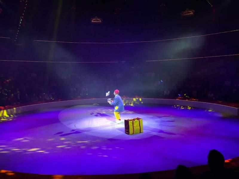 Vista sentada para Cirque d'hiver Secção Loge16 Fila 16 Lugar 2
