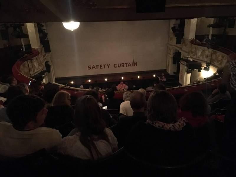 Vista sentada para Garrick Theatre Secção Circle Fila E Lugar 10