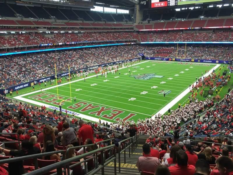 Vista sentada para NRG Stadium Secção 347 Fila S Lugar 8