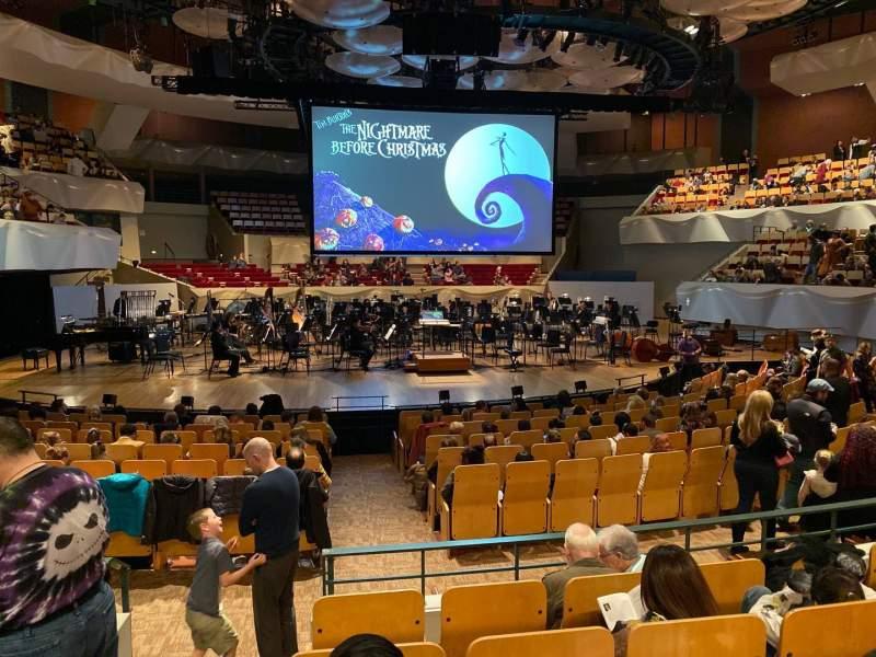 Vista sentada para Boettcher Concert Hall Secção Orch 2 Fila N Lugar 40