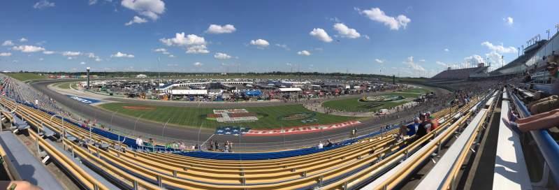 Vista sentada para Kentucky Speedway Secção 4L Fila 27 Lugar 15