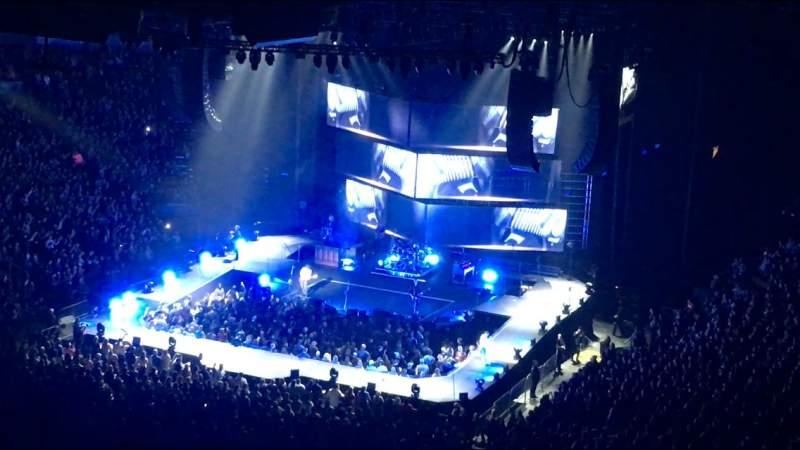 Vista sentada para Scotiabank Arena Secção 301 Fila 12 Lugar 7