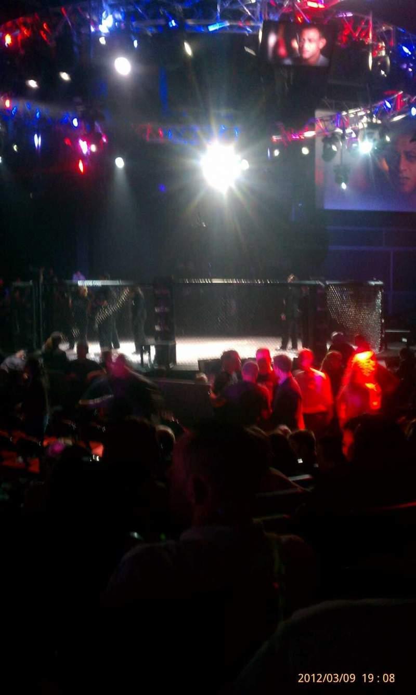 Vista sentada para The Venue at Horseshoe Casino (Hammond) Secção 205 Fila H Lugar 15