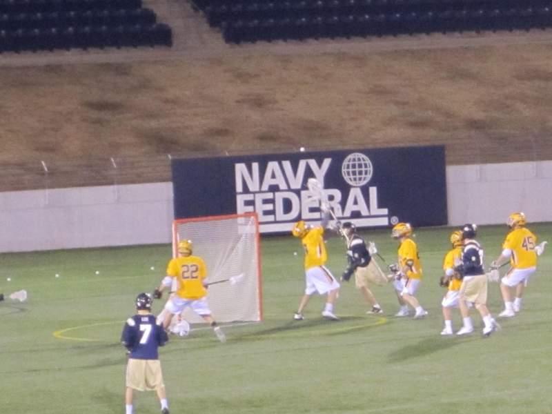Vista sentada para Navy-Marine Corps Memorial Stadium Secção General Admission