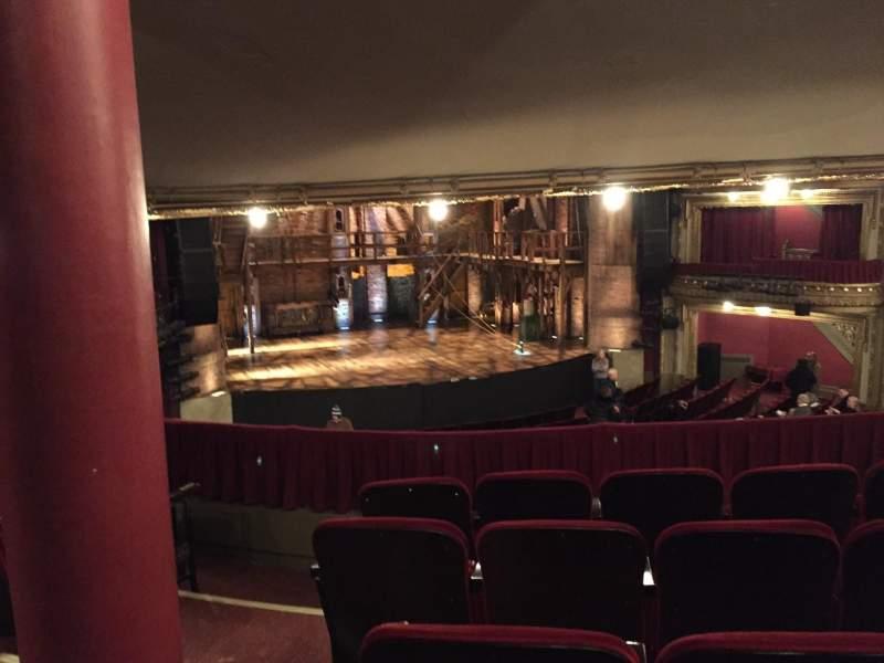 Vista sentada para CIBC Theatre Secção Dress Circle LC Fila E Lugar 235