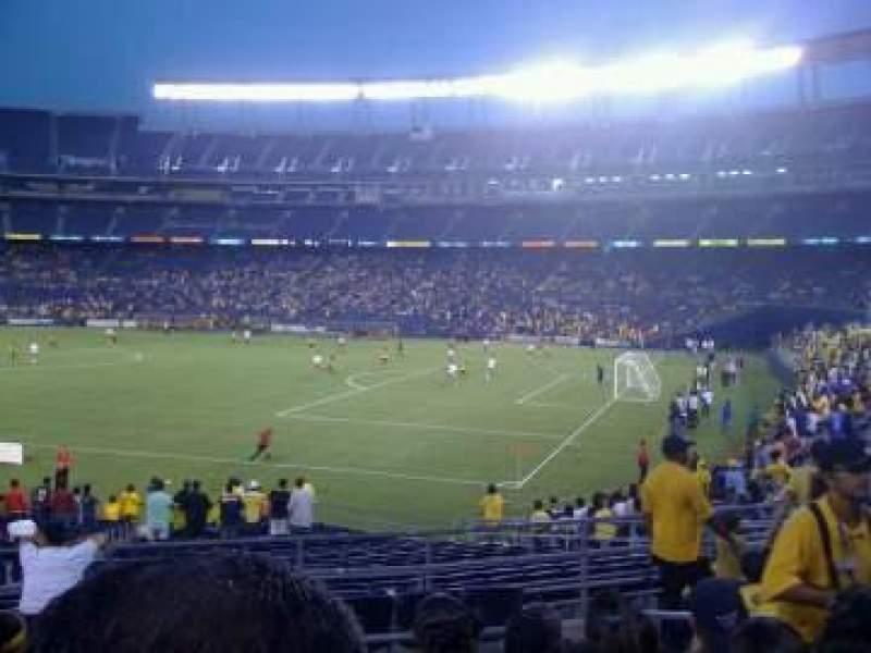 Vista sentada para SDCCU Stadium Secção P16