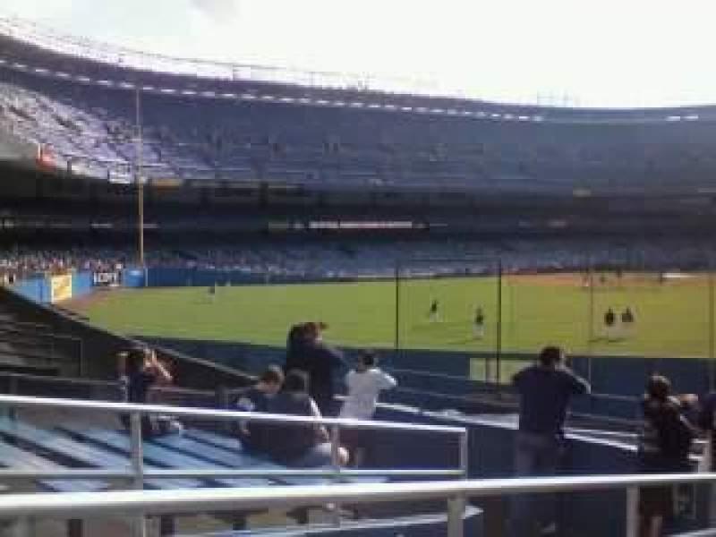 Vista sentada para Old Yankee Stadium Secção bleachers
