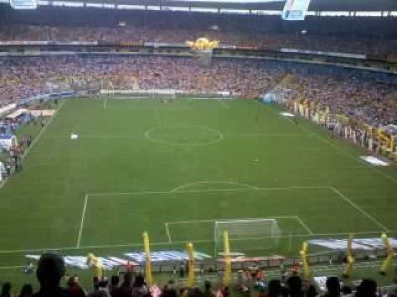 Vista sentada para Estadio Jalisco