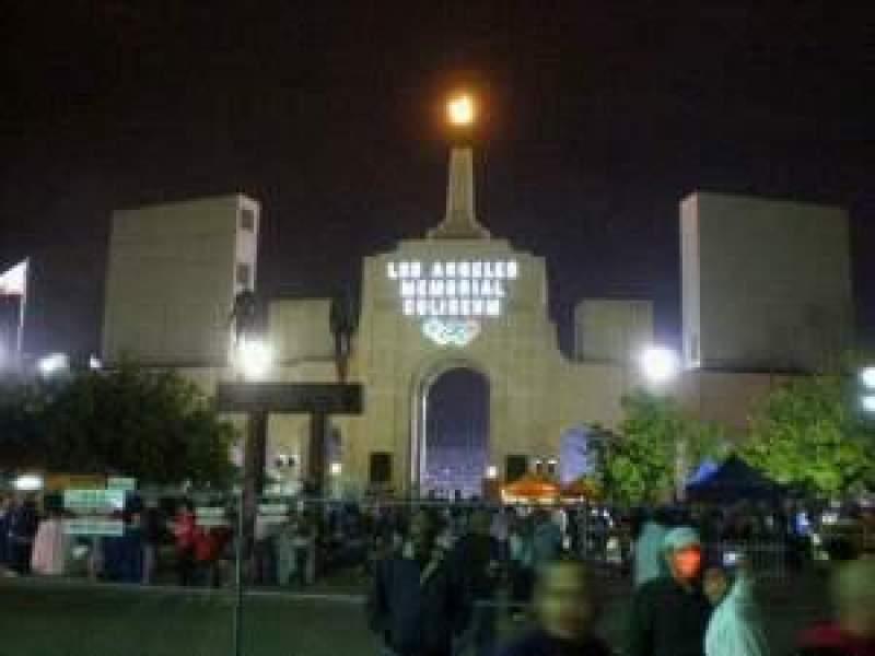 Vista sentada para Oakland Alameda Coliseum