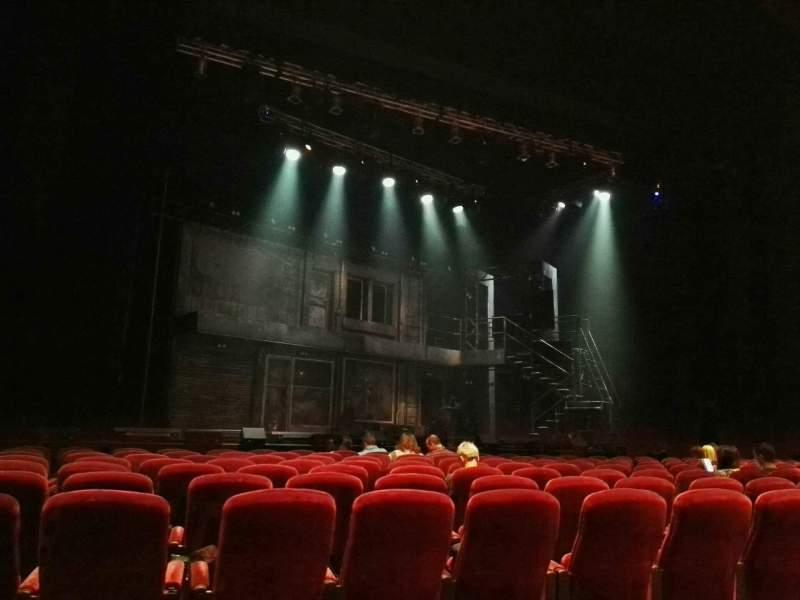 Vista sentada para Crown Theatre (Perth) Secção Lounge Fila E Lugar 16