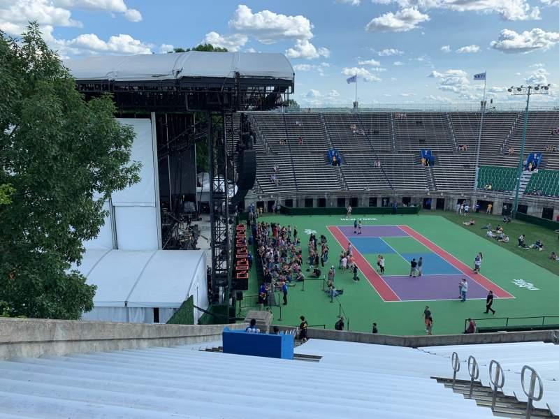 Vista sentada para Forest Hills Stadium Secção 10 Fila RR Lugar 15