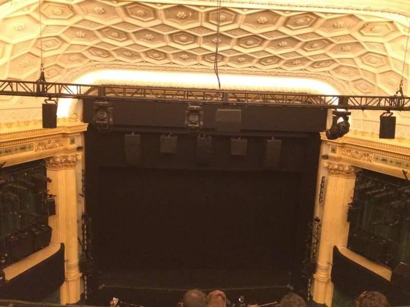 Vista sentada para Hudson Theatre Secção Balcony C Fila E Lugar 107