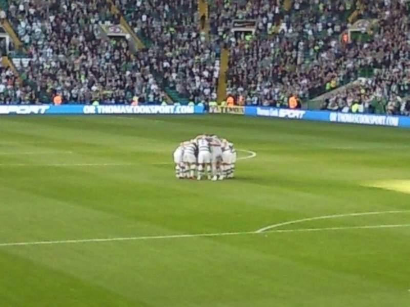 Vista sentada para Celtic Park