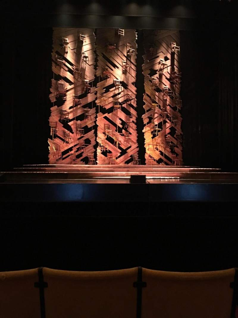 Vista sentada para Auditorium Theatre Secção Center Fila D Lugar 305