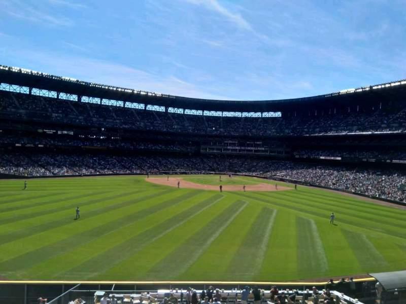 Vista sentada para T-Mobile Park Secção 187 Fila 1