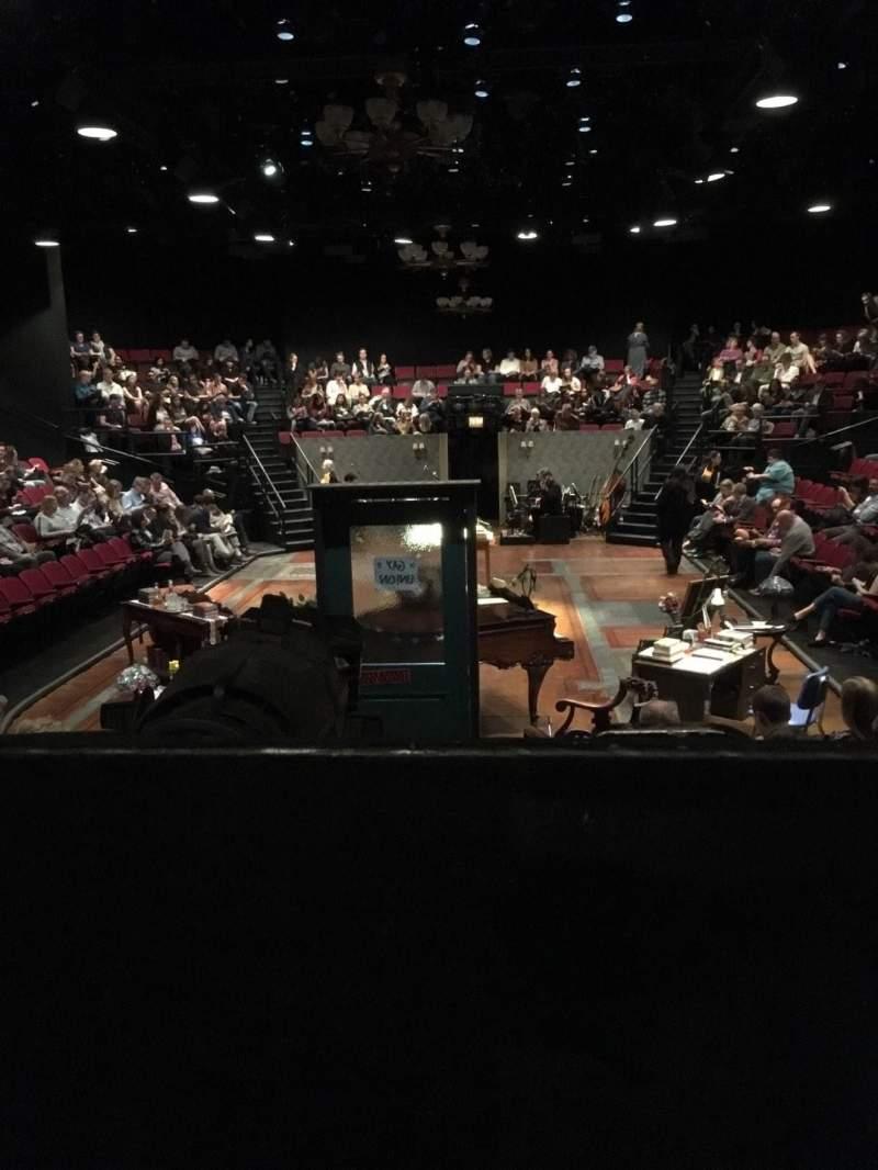 Vista sentada para Circle in the Square Theatre Secção Orchestra 100 (Even) Fila F Lugar 104