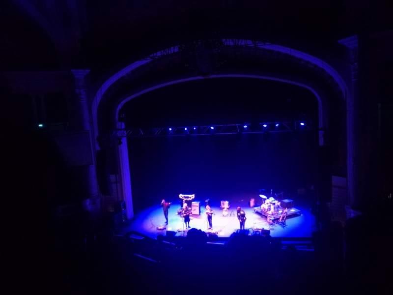 Vista sentada para Orpheum Theatre (Boston) Secção Balcony RC Fila H Lugar 108