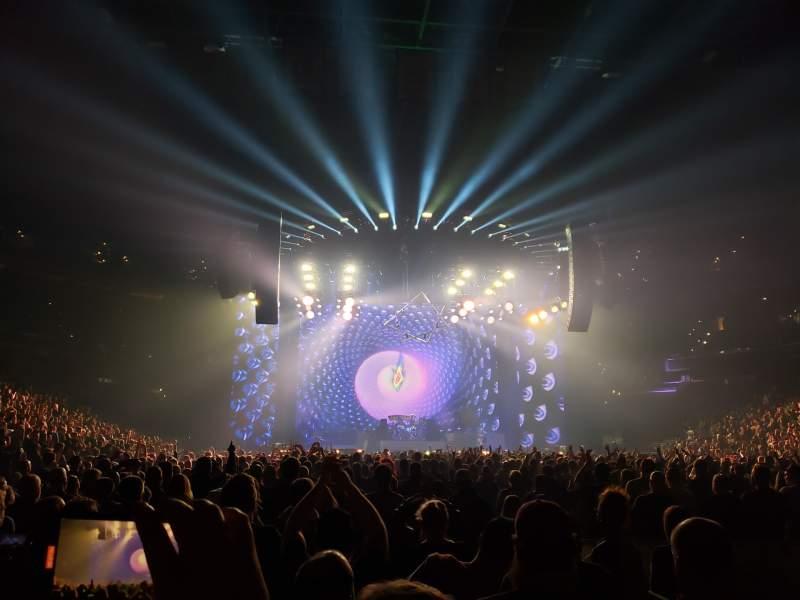 Vista sentada para Capital One Arena Secção Floor 4 Fila O Lugar 12
