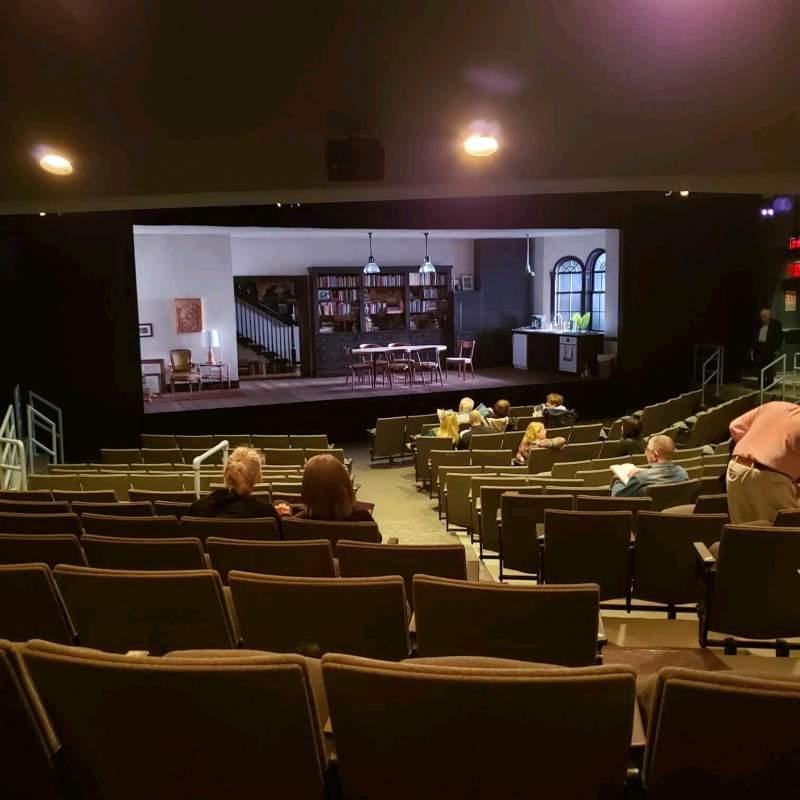 Vista sentada para Laura Pels Theatre Secção Orch Fila Q Lugar 5