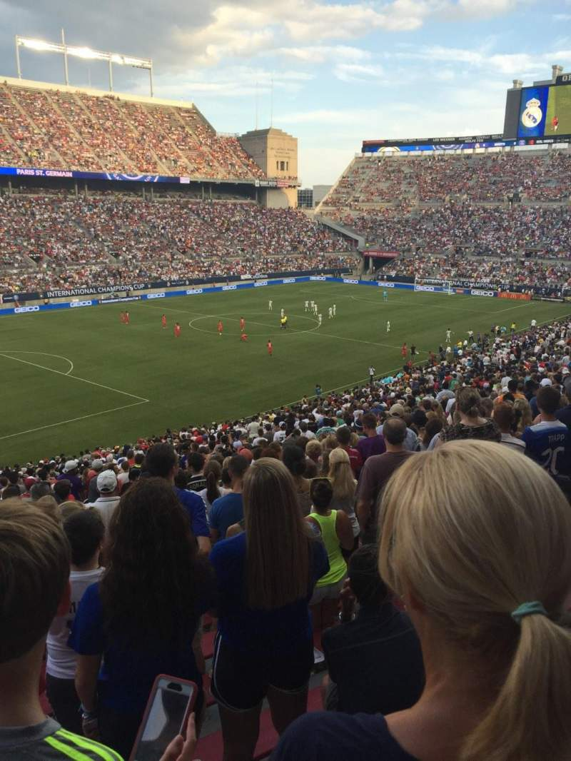 Vista sentada para Ohio Stadium Secção 13A Fila 33 Lugar 6
