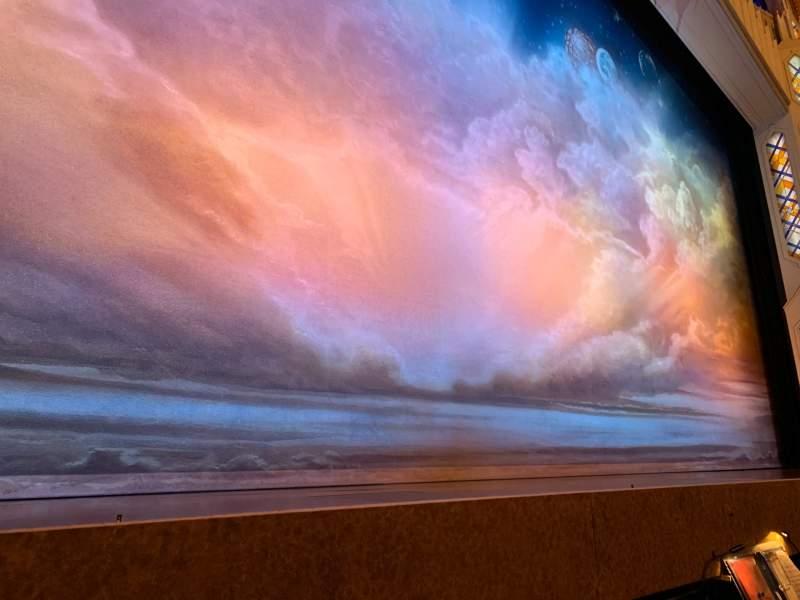 Vista sentada para Eugene O'Neill Theatre Secção Orchestra C Fila A Lugar 114