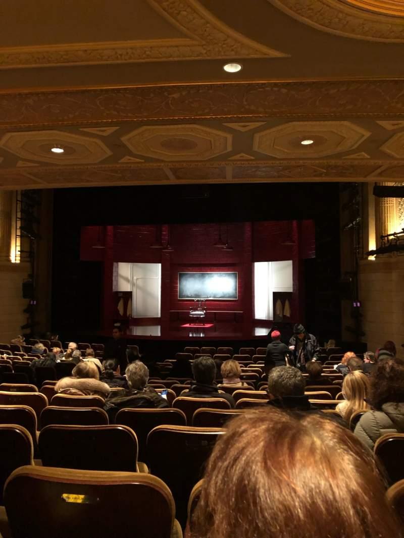 Vista sentada para Samuel J. Friedman Theatre Secção Orchestra R Fila P Lugar 112