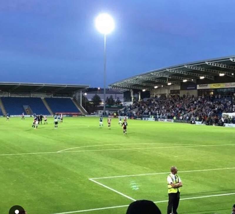 Vista sentada para Technique Stadium